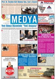 """Yeni Dünya Düzeninde """"Yeni Anayasa"""" - gerçek medya gazetesi"""