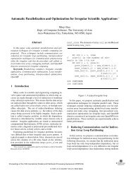 Automatic parallelization and optimization for irregular ... - IEEE Xplore