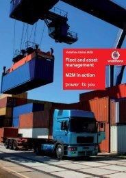 Download the Vodacom M2M fleet and asset management brochure