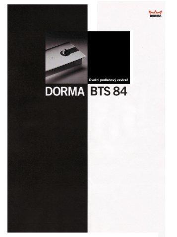 DORMA BTS 84 - dortechnik.cz