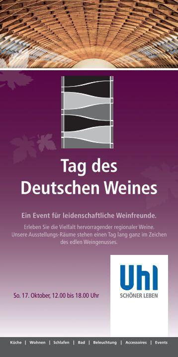 Tag des Deutschen Weines - Weingut Sonnenhof
