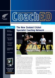 Download the newsletter (2.61MB) - New Zealand Cricket
