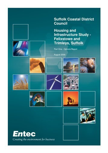Suffolk Coastal District Council Housing and Infrastructure Study ...
