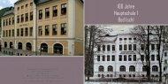 Broschüre: 100 Jahre HS I Bad Ischl - HS1 Bad Ischl