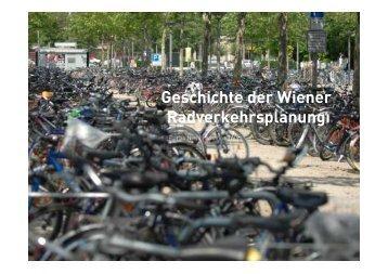 Geschichte der Wiener Radverkehrsplanungı