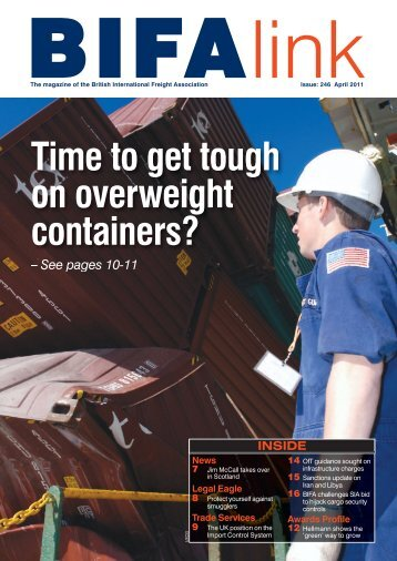BIGFALink March 11cover new - British International Freight ...