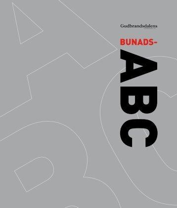 bunads-ABC - Gudbrandsdalens Uldvarefabrik as