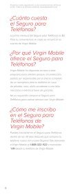 Protect is lost, s has an o electrica All for $ Protege tu ... - Virgin Mobile - Page 6