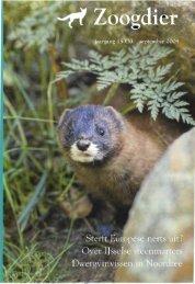Zoogdier 15(3) september 2004 - Zoogdierwinkel