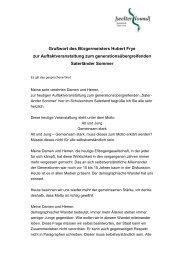 Gruß wort des Bü rgermeisters Hubert Frye zur ... - Saterland