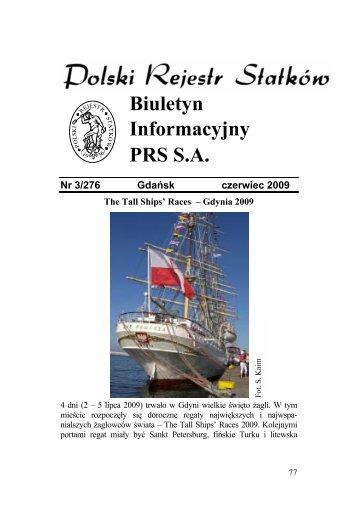 Nr 3/276 Gdańsk czerwiec 2009 - PRS