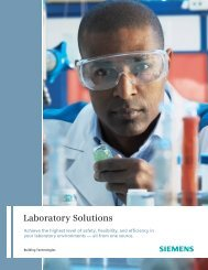 Laboratory Solutions - Siemens Industry, Inc.