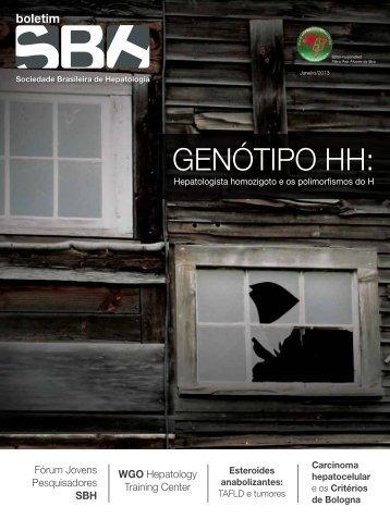 Boletim SBH Janeiro/2013 - Sociedade Brasileira de Hepatologia