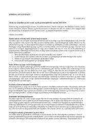 Aftale om satspuljen på det social - Dansk Folkeparti