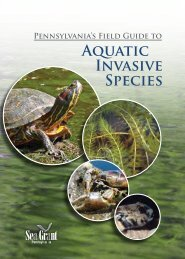 Pennsylvania's Field Guide to - Aquatic Nuisance Species Task Force