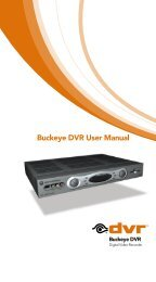 Buckeye DVR User Manual - Buckeye CableSystem