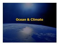 Ocean & Climate.pdf - Atmospheric and Oceanic Science