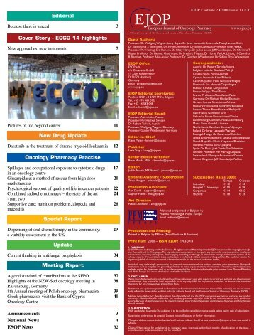 Official Journal of the European Society of Oncology