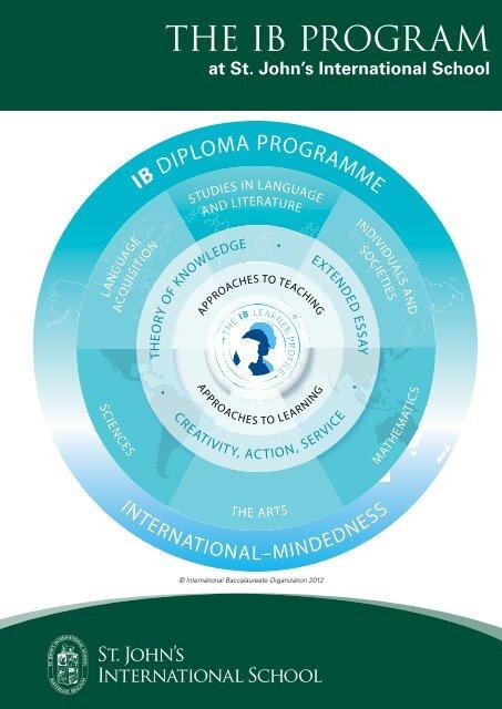 IB Program Brochure - St. John's International School
