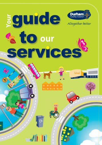 Guide to services 2012 - Durham County Council