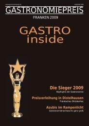 Franken 2009 - Gastronomiepreis
