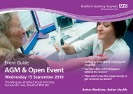 Open Event - Bradford Teaching Hospitals NHS Foundation Trust