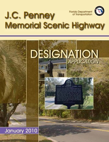 Corridor Management Plan - Florida Scenic Highways