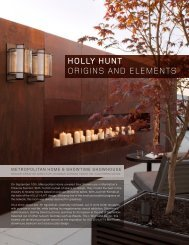 HOLLy HUNT ORIGINS AND ELEMENTS