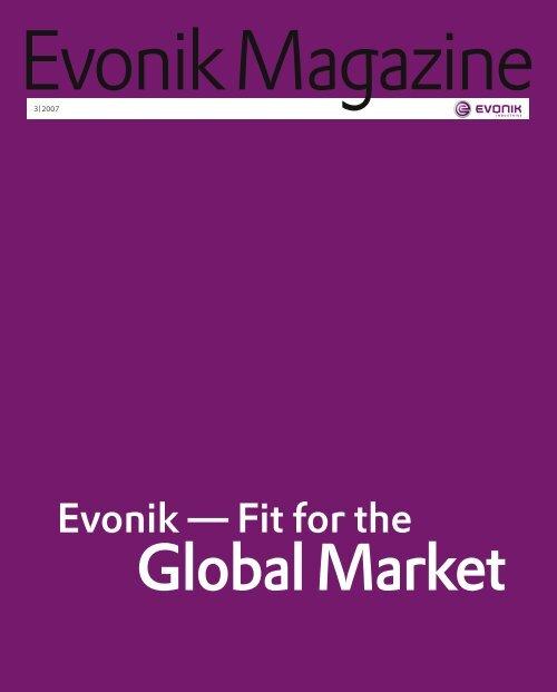 Evonik Magazine 3/2007