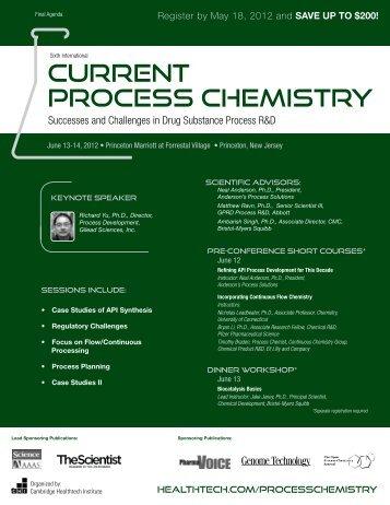 Current Process Chemistry - Cambridge Healthtech Institute