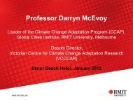 Professor Darryn McEvoy