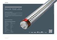 DeLUX 1500 ultra - Lichtline