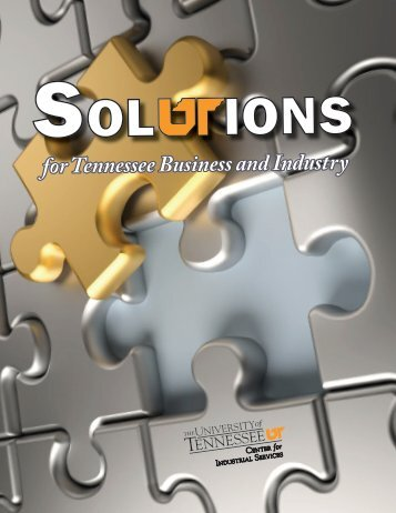 2013 CIS Solutions Catalog - Center for Industrial Services - The ...