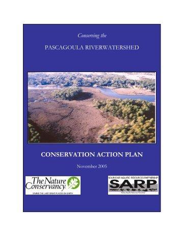 conservation action plan - Southeast Aquatic Resources Partnership
