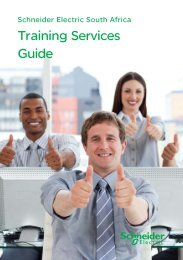 Download our Training Guide for 2013 (pdf 2.4Mb) - Schneider Electric