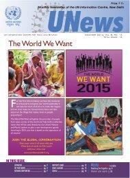 Dec 2012, Vol:8, No. 12 - UNICs