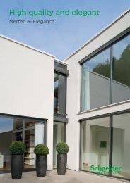 Merten M-Elegance - Schneider Electric