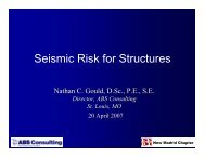 Seismic Risk for Structures