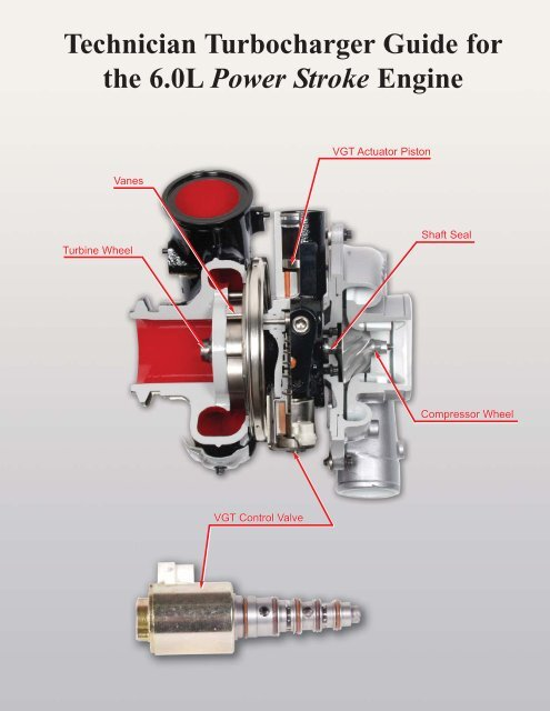 Power Stroke Engine >> Technician Turbocharger Guide For The 6 0l Power Stroke Engine