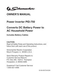 Power Inverter PID-750 Converts DC Battery Power to AC ...