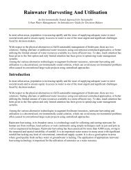Rainwater Harvesting And Utilisation - The Global Development ...