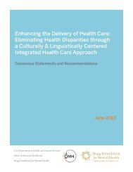 Enhancing the Delivery of Health Care - Hogg Foundation for Mental ...