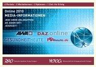 Online 2010 Media-informationen