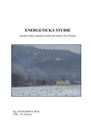 Energetická studie - Pražmo