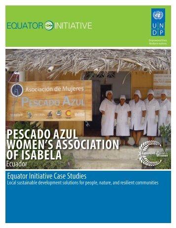 pescado azul women's association of isabela - Equator Initiative
