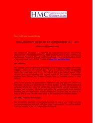 HMC Projects in Central and Eastern Europe - ICCG