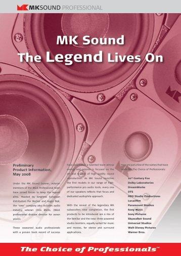 MK Sound The Legend Lives On - Advanced Audio