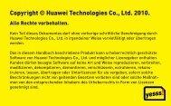 Copyright © Huawei Technologies Co., Ltd. 2010. - Yesss