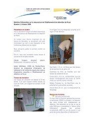 Bulletin d'information sur la réouverture de l'établissement de ...