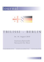 Journal - Prof. Dr. Bernd Heinrich - Humboldt-Universität zu Berlin